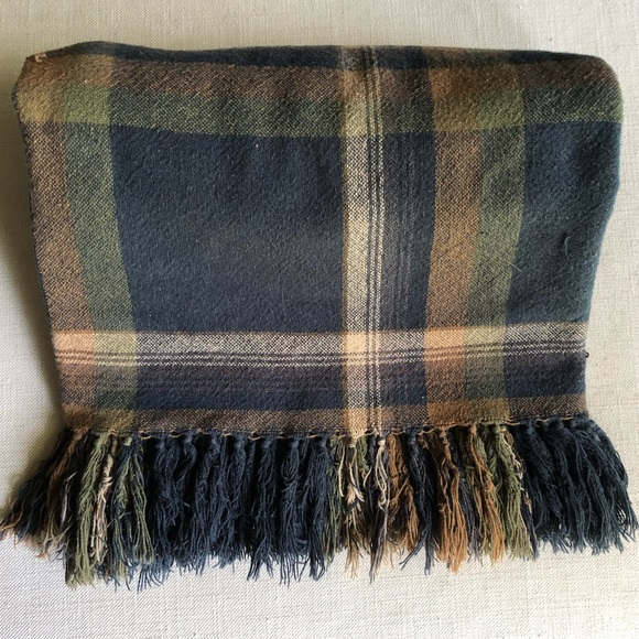 Ralph Lauren Other - RALPH LAUREN | Vintage plaid blanket with tassels